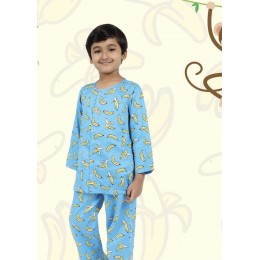 Banana Pure-cotton Nightsuit