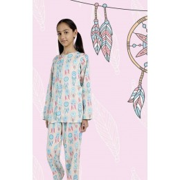 Dream Catcher Print Pure-cotton Nightsuit