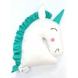 Green Unicorn Toy