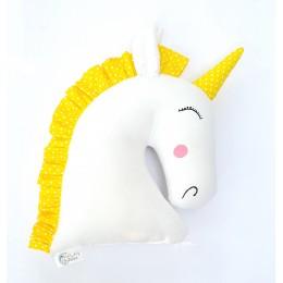 Yellow Unicorn Toy