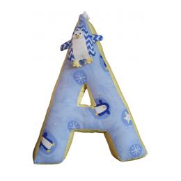 Alphabet 'A' Cushion