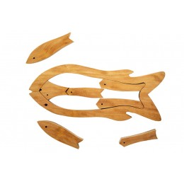 Fish Wooden Puzzle