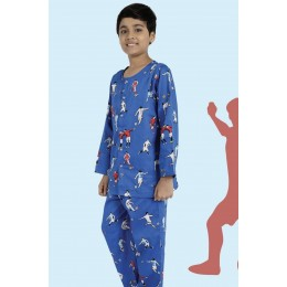 Football Print Pure-cotton Nightsuit