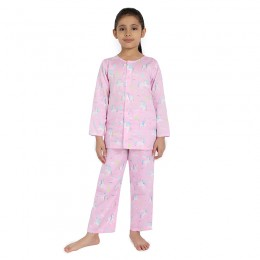 Magic Unicorn Print Pure-cotton Nightsuit