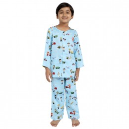 Young Heroes Pure-cotton Nightsuit