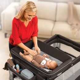 All in One Newborn Napper Bassinet Playard and Changing Station