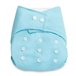 Reusable Baby Blue Cloth Diaper