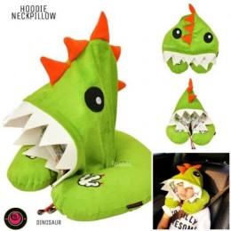 Dinosaur Hooded Neck Pillow