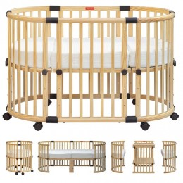 Florence Multifunction Baby Crib and Cot Bed
