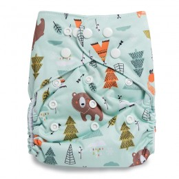 Fun in Forest Reusable Cloth Diaper