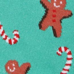 Ginger Bread Man Kids Socks