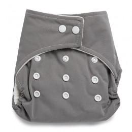 Reusable Grey Cloth Diaper