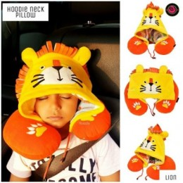 Lion Hooded Neck Pillow