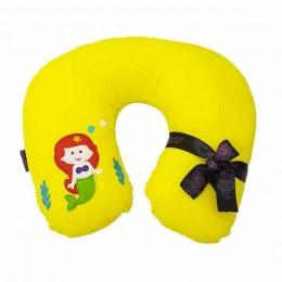 Mermaid Yellow Neck Pillow
