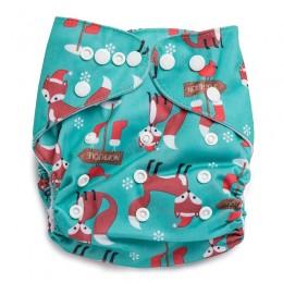 North Pole Reusable Cloth Diaper