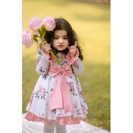 Old Rose Summer Dress - Peach