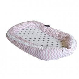 Pink Chevron Baby Nest