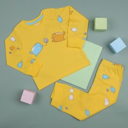 Playtime Yellow Kitty Nightsuit