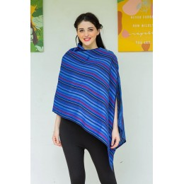 Purple Rainbow Nursing Stole