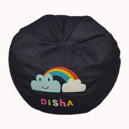 Rainbow Cloud Bean Bag