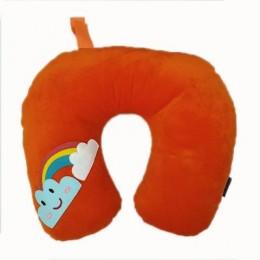 Rainbow Orange Neck Pillow