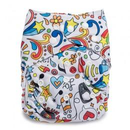 Rockstar Reusable Cloth Diaper