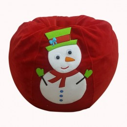 Snowman Christmas Bean Bag