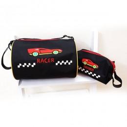 Sports Car Black Duffel Bag