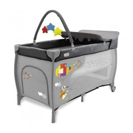 Travel Cot Mix Plus Zeppelin