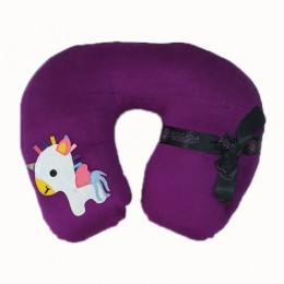 Unicorn Purple Neck Pillow