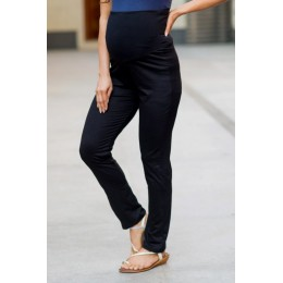 Versatile Black Over Bump Maternity Stretchable Leggings