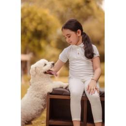 White Pony T-Shirt for Girls