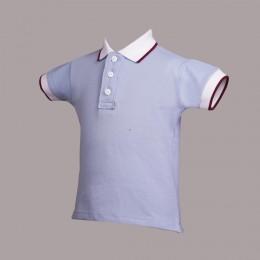 Light Blue Pony T-Shirt for Boys