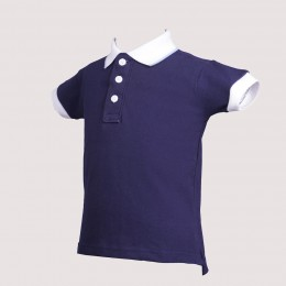 Navy Pony T-Shirt for Boys