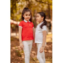 Red Pony T-Shirt for Girls