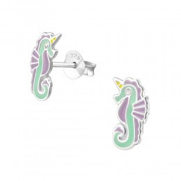 Sea Unicorn Earrings