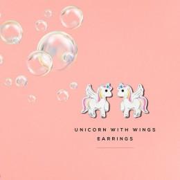 Unicorn With Wings Earrings