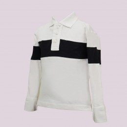 White & Blace Pony T-Shirt for Boys