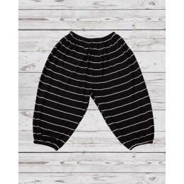 Black & White Stripped Loose Pants