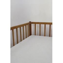 Cot/Crib sheet- Chevron (Beige)