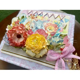 Handmade Baby Books With Flowers