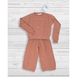 Knit Set Pink