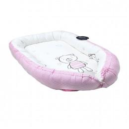 Pink & White Baby Nest
