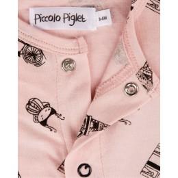 Sock Romper Pink