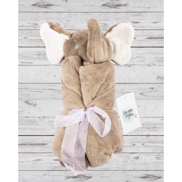 Towel Blankets Brown Elephant