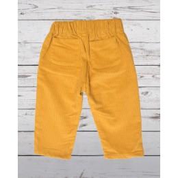 Yellow Corduroy Pants