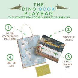 The Dino Books PlayBag - Diplodocus cover