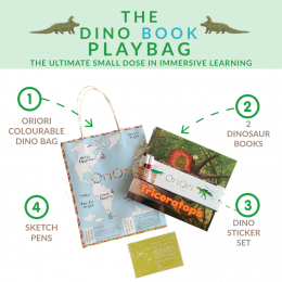 The Dino Books PlayBag - Triceratops Cover