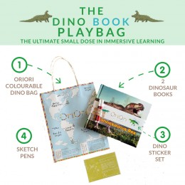 The Dino Books PlayBag