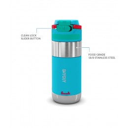 Clean Lock Insulated Stainless Steel Bottle - Shyguy